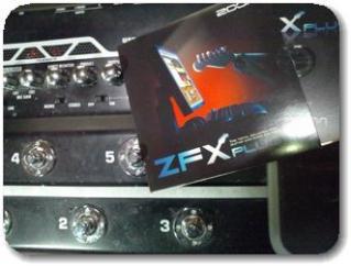 ZOOMのZFX Plug-inのControl Package