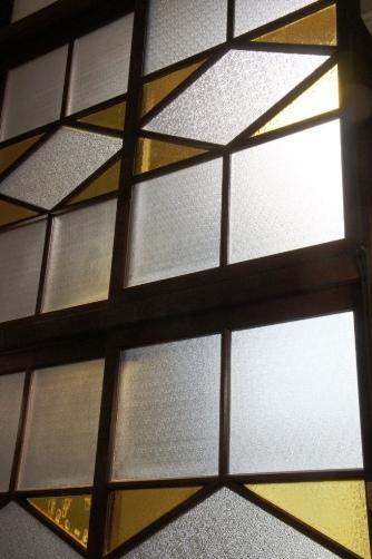 喜多見教会② お御堂窓
