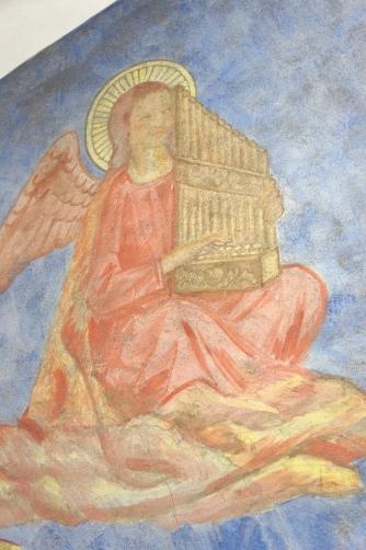 喜多見教会② フレスコ画④