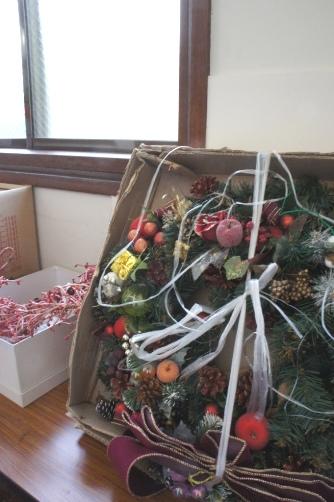 喜多見教会② クリスマスリース
