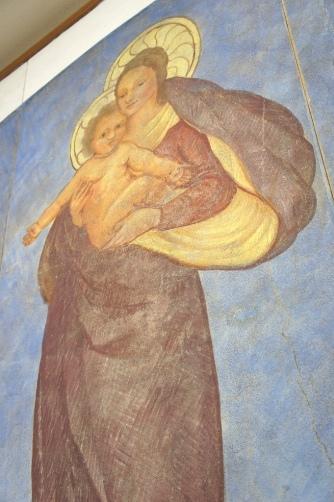 喜多見教会② フレスコ画②