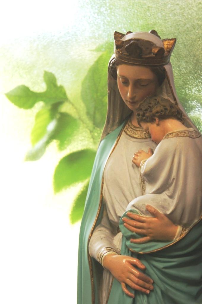 喜多見教会② マリア像②