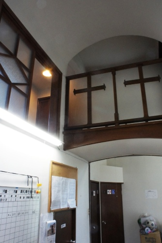 喜多見教会②二階へ②