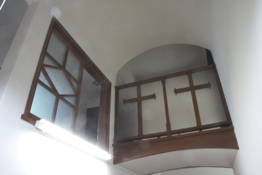 喜多見教会②二階へ①
