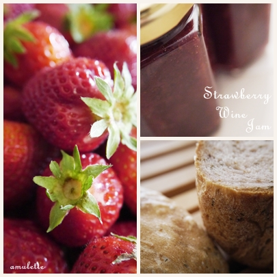 Strawberry Wine Jam