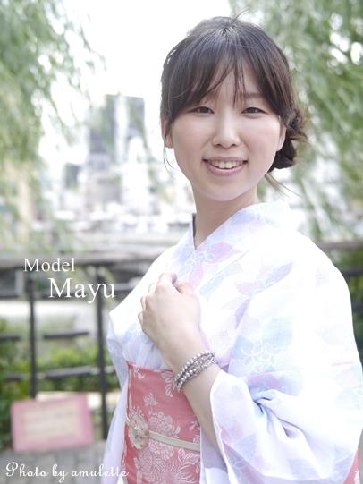 model Mayu 浴衣姿