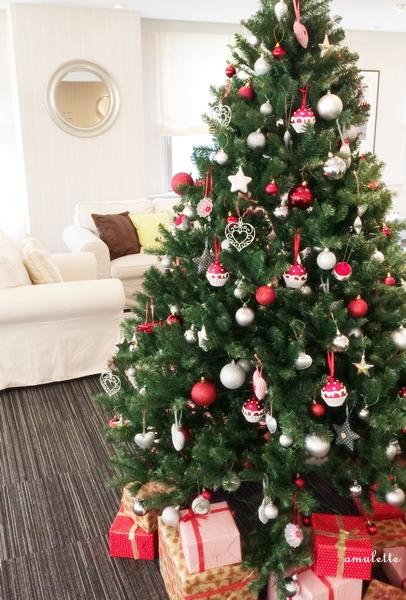 サロンクリスマスツリー