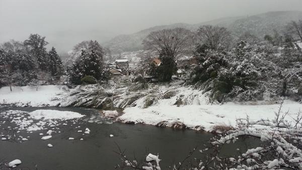 今日も雪国