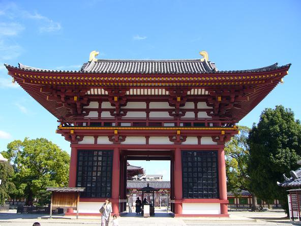 2013夏休みの旅。四天王寺門