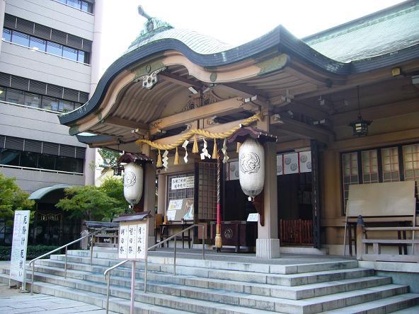 2013夏休みの旅。_いかすり神社本殿