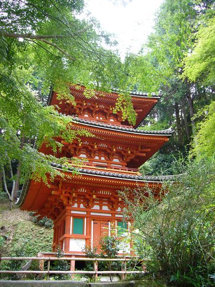 2013夏休みの旅。_岩船寺三重塔