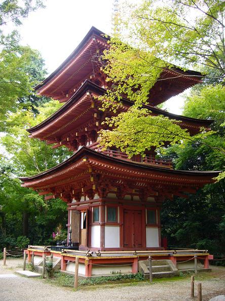 2013夏休みの旅。_浄瑠璃寺三重塔