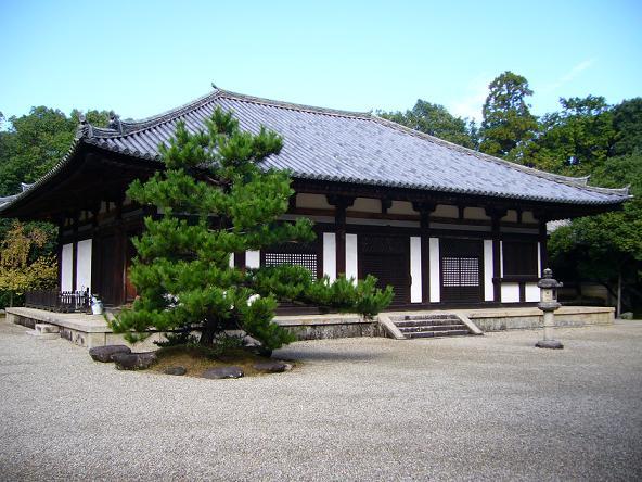 2013夏休みの旅。_秋篠寺本堂