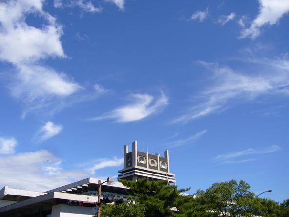 2013夏休みの旅。_県庁と鳳凰雲