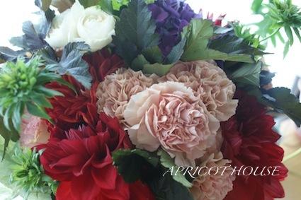 131017結婚式花