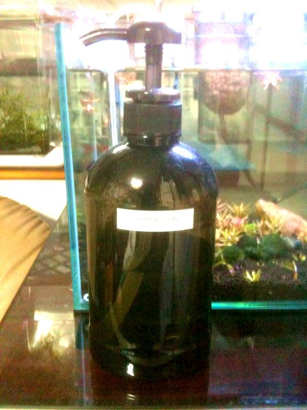 木酢液希釈ボトル