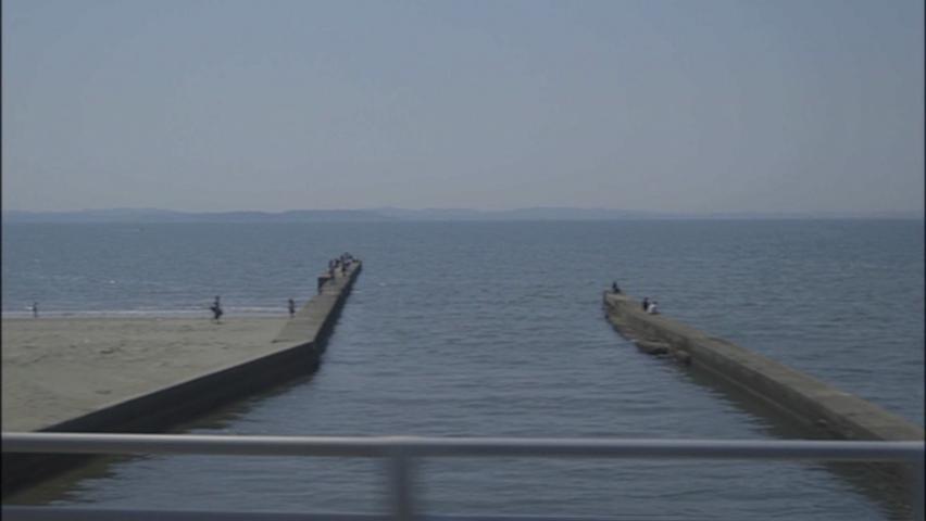 岩瀬川河口