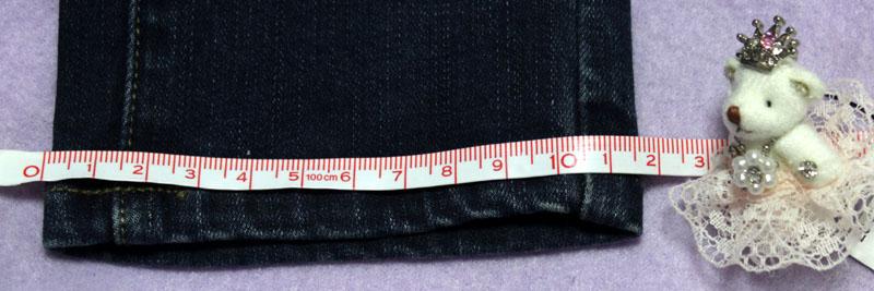 UNIQLO ウルトラストレッチジーンズ 裾幅