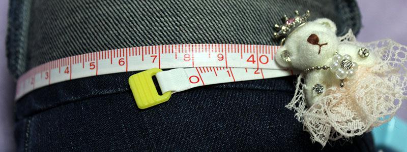 UNIQLO ウルトラストレッチジーンズ 裾伸展サイズ