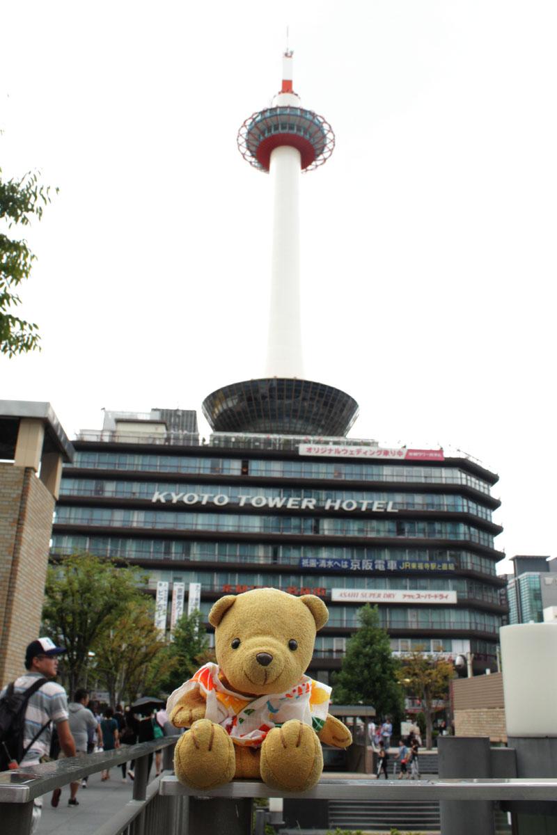 京都タワーと 130907