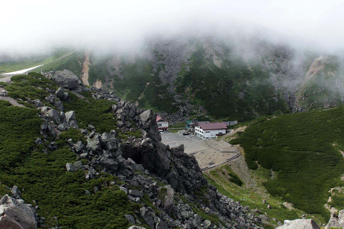 魔王岳から畳平を 130828