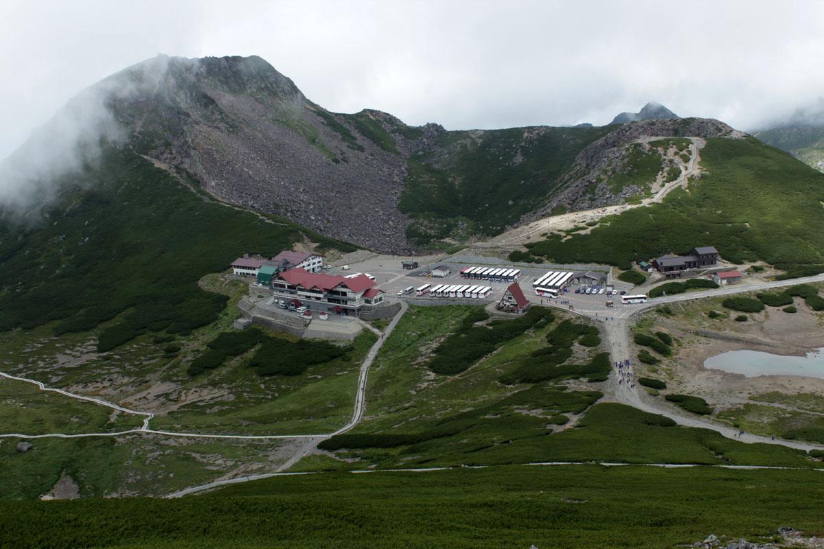 恵比寿岳、魔王岳と畳平 130828