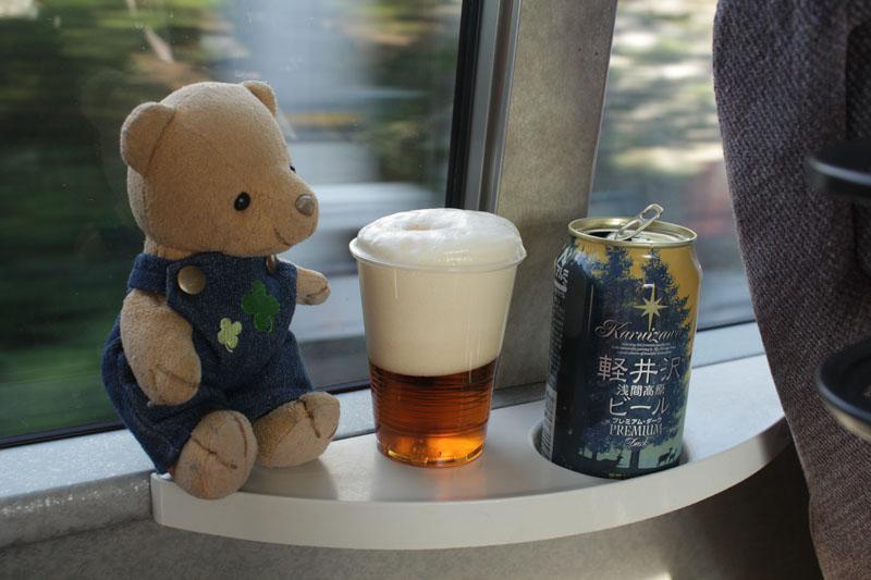 軽井沢 浅間高原ビールと 130711