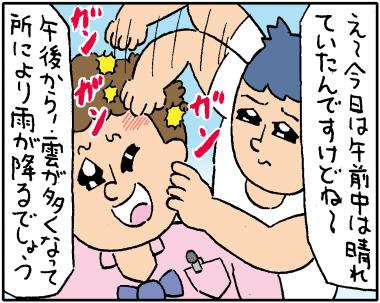 お天気キャスター2