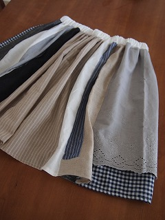 スカートもできた~。
