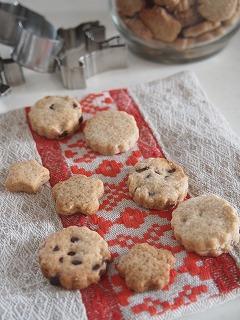 クッキーを焼きました
