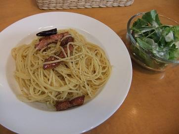 ベーコンスパゲティ