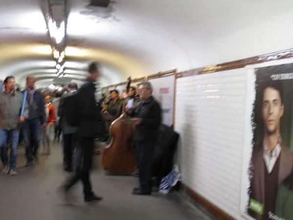 メトロ駅7人のミュージシャン
