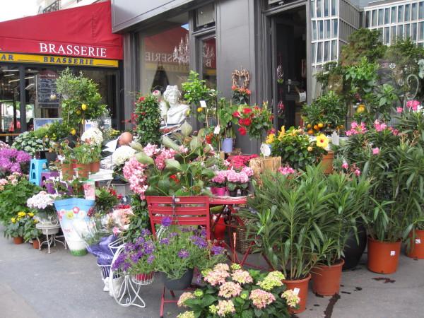 花屋さんの店先1