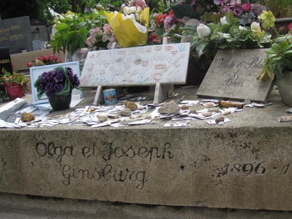 墓前の地下鉄切符