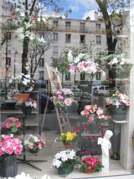 花屋さんの店先2
