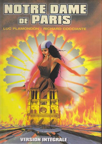 ノートルダム・ド・パリの楽譜集の表紙