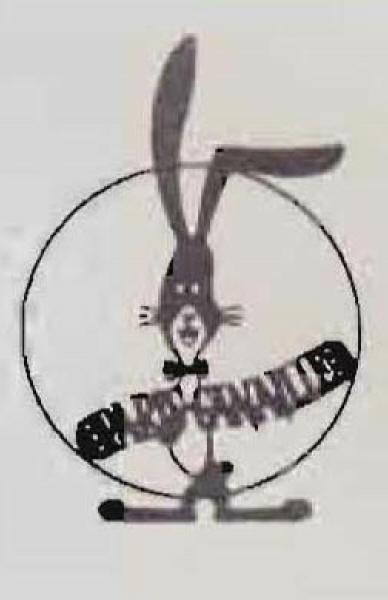 巴里野郎のロゴのウサギ
