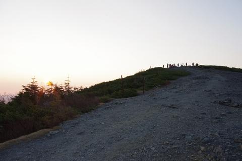 蝶ヶ岳山頂 2677m