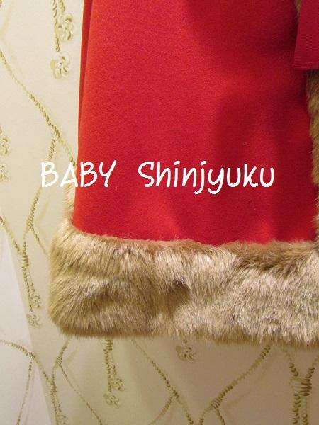 赤ずきんケープ 裾