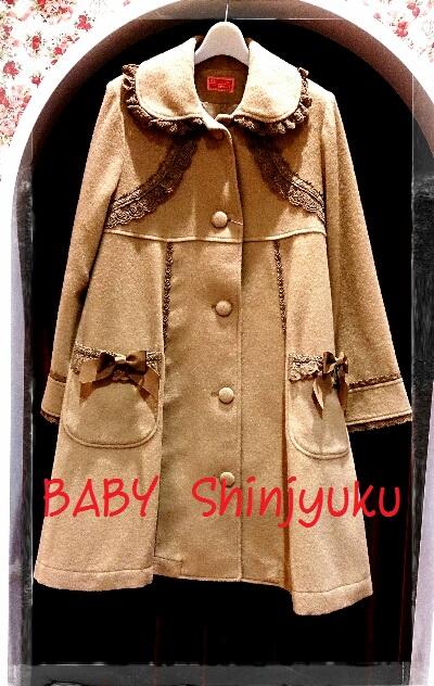 小公女コート キャメル