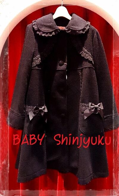 小公女コート 黒