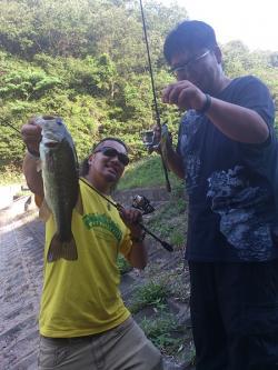 神辺野池0614Wヒット