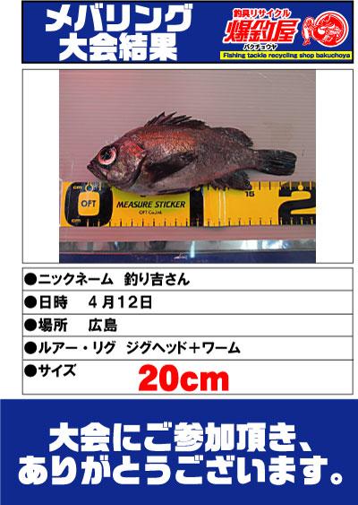 釣り吉さん20cm