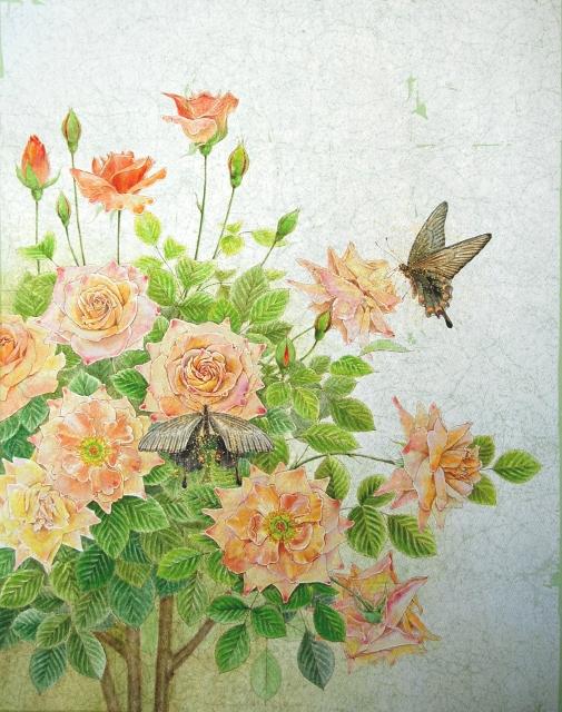 薔薇の午後1