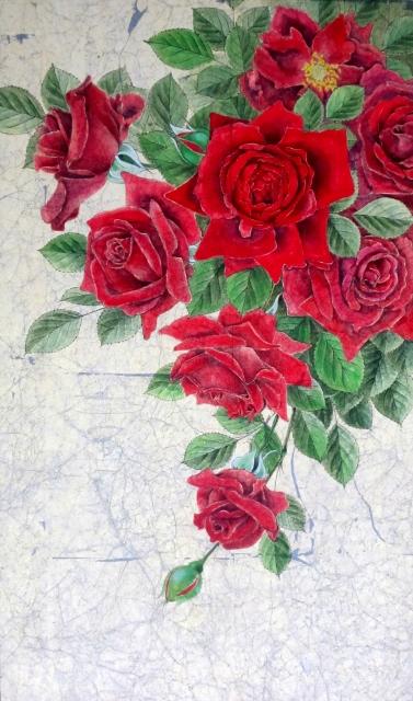紅の薔薇 (377x640)