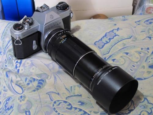ASAHI PENTAX SPF 10 (CHROME SMC TAKUMAR F4 200mm)