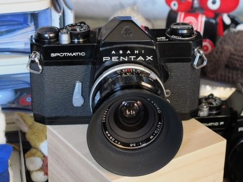 ASAHI PENTAX SP 4-3 (BK G.ZUIKO AUTO-W F3.5 28mm)