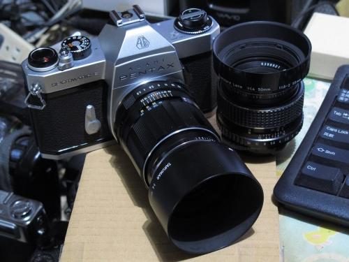 ASAHI PENTAX SPF 9 (CHROME SMC TAKUMAR  105mm 2.8)