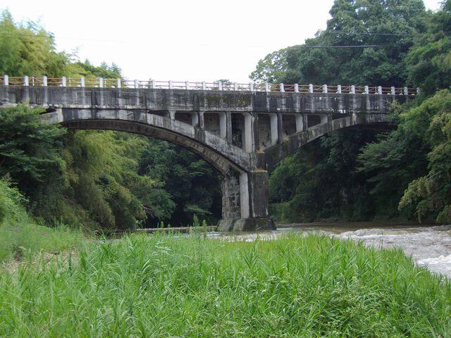 ... 御坂サイフォン橋(眼鏡橋