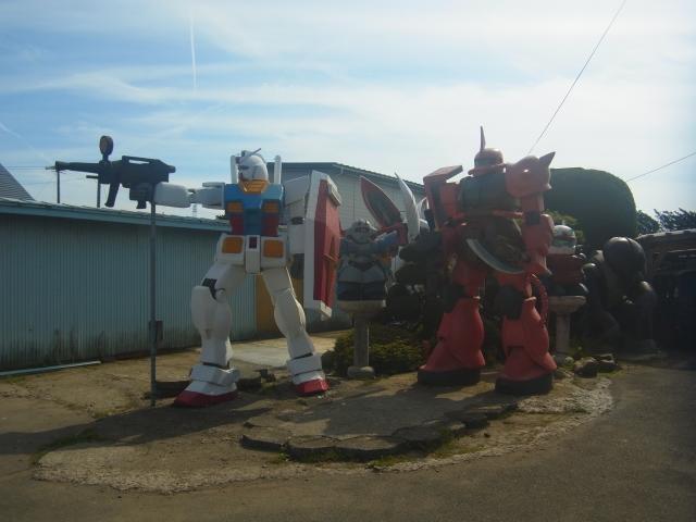 Gundam in Aomori Village